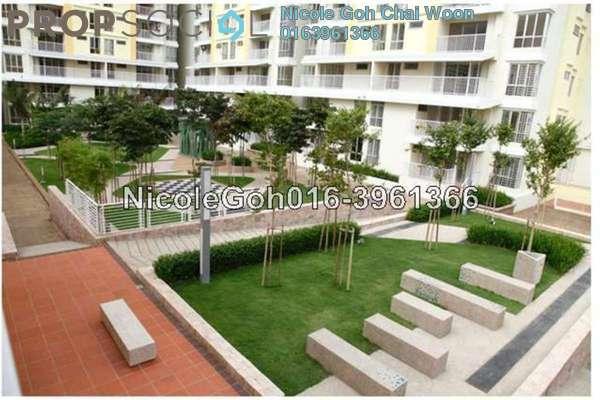 For Rent Condominium at Platinum Lake PV13, Setapak Leasehold Semi Furnished 4R/2B 1.8k