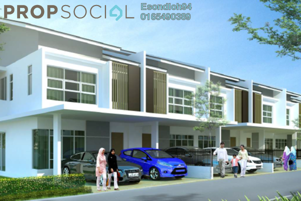 For Sale Superlink at M Residence, Rawang Freehold Unfurnished 4R/3B 584k
