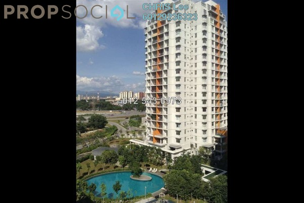 For Sale Condominium at Midfields, Sungai Besi Leasehold Semi Furnished 3R/2B 580k