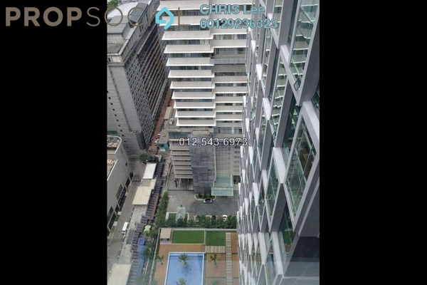 For Rent Office at Soho Suites, KLCC Freehold  0R/0B 3k