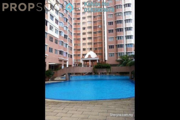 For Rent Apartment at Rhythm Avenue, UEP Subang Jaya Freehold Unfurnished 3R/2B 1k