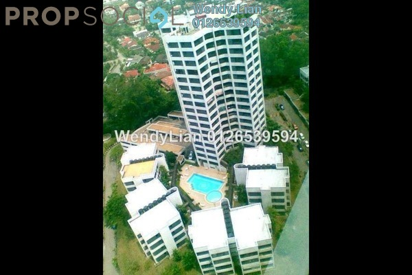 For Sale Condominium at Bangsar Heights, Bangsar Freehold Semi Furnished 3R/3B 1m
