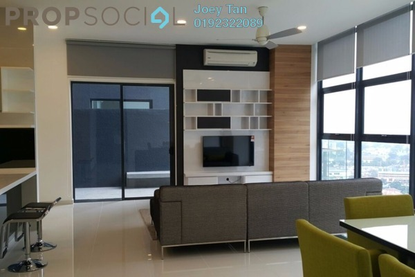 For Rent Condominium at Mirage Residence, KLCC Freehold Fully Furnished 3R/3B 6k