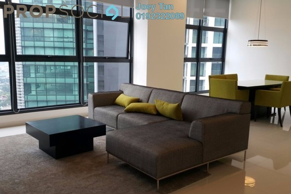 For Rent Condominium at Mirage Residence, KLCC Freehold Fully Furnished 3R/3B 5.8k