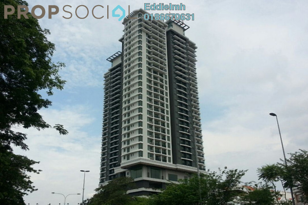 For Rent Condominium at Lido Residency, Bandar Sri Permaisuri Leasehold Semi Furnished 2R/2B 1.8k