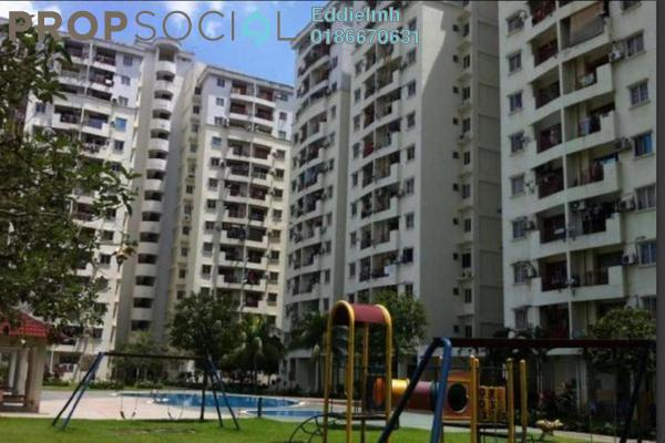 For Rent Condominium at Pandan Court, Pandan Indah Leasehold Unfurnished 3R/2B 1.2k