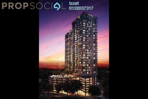 For Sale Condominium at D'Sands Residence, Old Klang Road Freehold Semi Furnished 3R/2B 650k