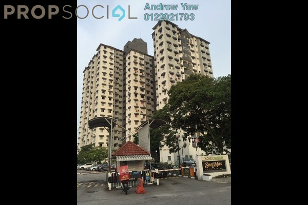 For Sale Condominium at Seri Mas, Bandar Sri Permaisuri Leasehold Fully Furnished 3R/2B 338k