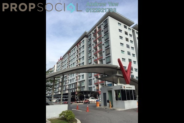 For Sale Condominium at Suria Residence, Bandar Mahkota Cheras Freehold Unfurnished 3R/2B 365k