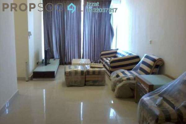 For Rent Condominium at Rivercity, Sentul Freehold Fully Furnished 3R/2B 2.3千