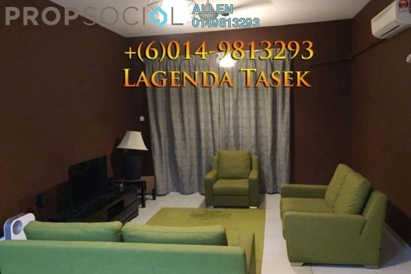 For Rent Serviced Residence at Lagenda Tasek, Johor Bahru Freehold Fully Furnished 3R/2B 2k