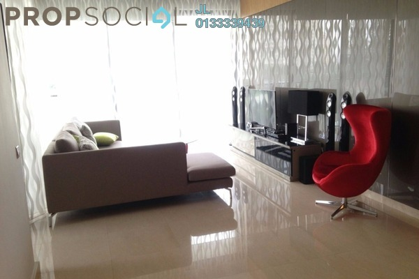 For Rent Condominium at Lumina Kiara, Mont Kiara Freehold Fully Furnished 3R/3B 5k