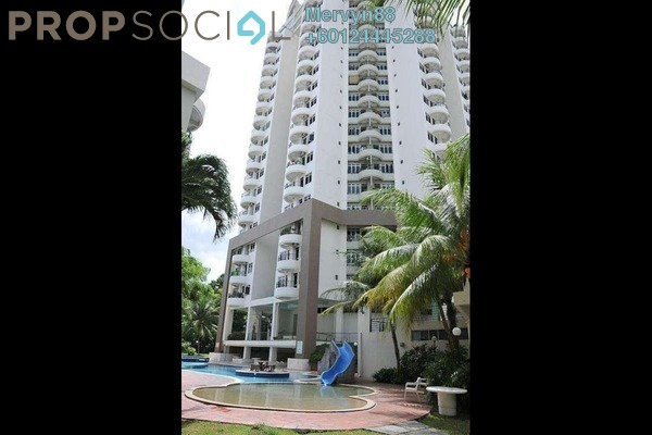 For Sale Condominium at Leader Garden, Tanjung Bungah Freehold Semi Furnished 3R/2B 520k