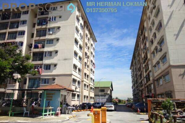 For Sale Apartment at Puchong Permata 1, Puchong Freehold Semi Furnished 3R/2B 230k