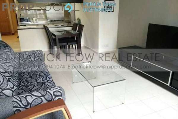 For Rent Condominium at i-Zen Kiara II, Mont Kiara Freehold Fully Furnished 1R/1B 2.6k