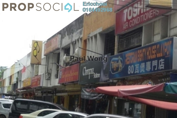 For Sale Shop at Taman Len Sen, Cheras Leasehold Unfurnished 0R/0B 1.5m