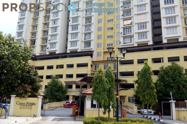 For Rent Condominium at Casa Prima, Kepong Leasehold Unfurnished 4R/2B 1.5k
