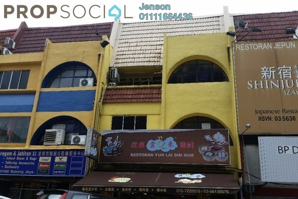 For Rent Shop at SS15, Subang Jaya Freehold Unfurnished 0R/0B 11k