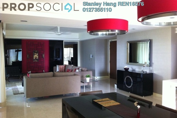 For Rent Condominium at Tiffani Kiara, Mont Kiara Freehold Fully Furnished 6R/6B 9k