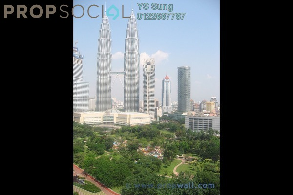 For Sale Condominium at Park Seven, KLCC Freehold Semi Furnished 6R/6B 7.2m