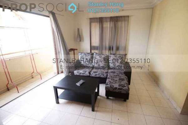 For Rent Condominium at Palm Spring, Kota Damansara Leasehold Semi Furnished 3R/2B 1.75k