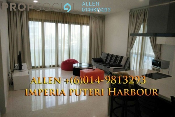 For Sale Condominium at Imperia, Puteri Harbour Freehold Fully Furnished 1R/1B 895k