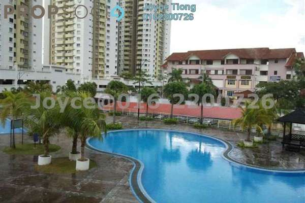 For Rent Condominium at Magna Ville, Selayang Leasehold Semi Furnished 3R/2B 1k