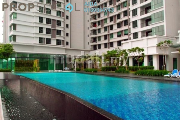 For Rent Condominium at Nautica Lake Suites @ Sunway South Quay, Bandar Sunway Leasehold Fully Furnished 5R/3B 4.2k