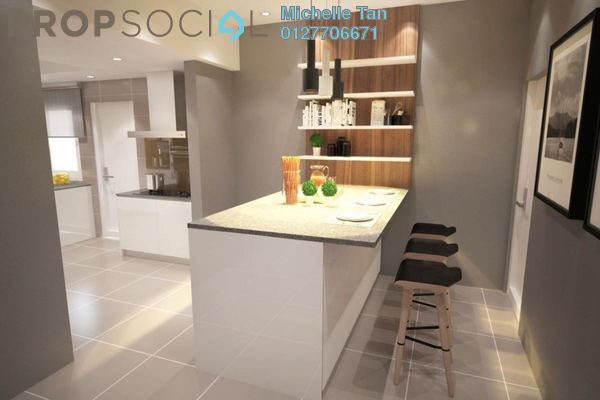 For Rent Condominium at Hampshire Park, KLCC Freehold Fully Furnished 3R/3B 10k