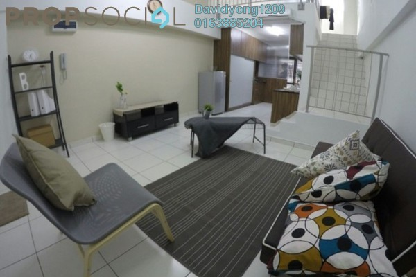 For Rent Condominium at Axis Residence, Pandan Indah Leasehold Fully Furnished 0R/1B 1.7k