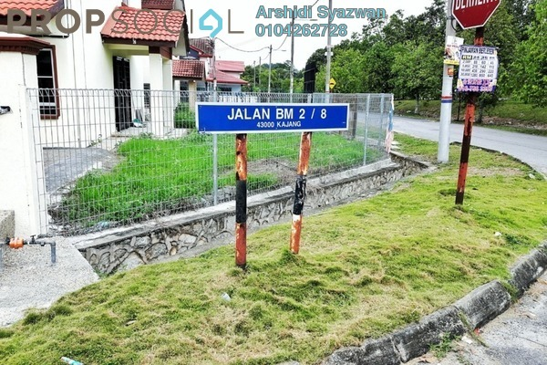 For Sale Terrace at Section 2, Bandar Mahkota Cheras Freehold Unfurnished 4R/3B 510k