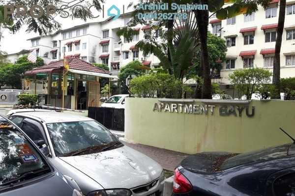 For Sale Apartment at Bayu Apartment, Damansara Damai Leasehold Unfurnished 3R/2B 280k