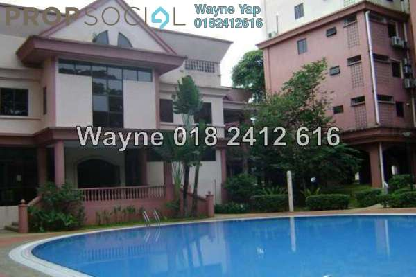 For Sale Condominium at Tiara Faber, Taman Desa Freehold Fully Furnished 3R/2B 580.0千