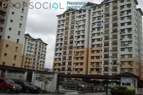 For Sale Apartment at PJS 1, PJ South Leasehold Semi Furnished 3R/2B 265k