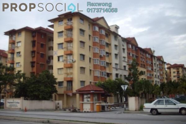 For Sale Apartment at Carmila Apartment, Kota Damansara Leasehold Semi Furnished 3R/2B 270k