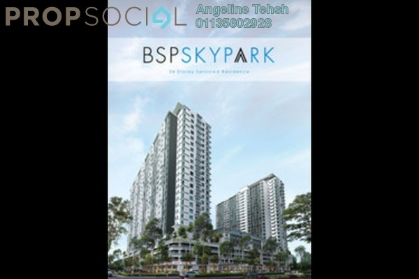 For Rent Serviced Residence at BSP Skypark, Bandar Saujana Putra Leasehold Semi Furnished 3R/2B 1.5k