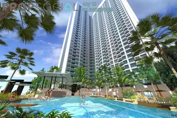 For Sale Condominium at Mizumi Residences, Kepong Leasehold Unfurnished 3R/2B 390k