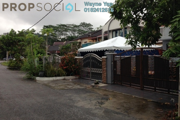 For Sale Terrace at Taman Kosas, Ampang Leasehold Semi Furnished 4R/3B 680k