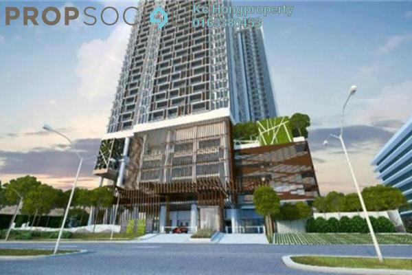 For Rent Condominium at Twin Arkz, Bukit Jalil Freehold Semi Furnished 2R/2B 2.3k