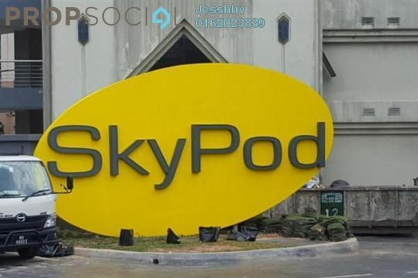 For Rent Condominium at Skypod, Bandar Puchong Jaya Freehold Semi Furnished 3R/2B 1.8k