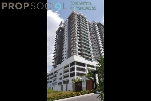 For Sale Serviced Residence at Rimba Residence, Bandar Kinrara Freehold Semi Furnished 3R/3B 810k