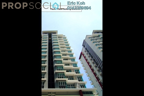 For Rent Serviced Residence at Pacific Place, Ara Damansara Leasehold Semi Furnished 1R/1B 1.2k