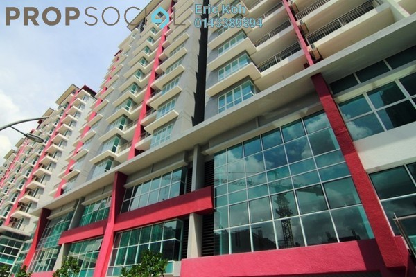 For Rent Serviced Residence at Pacific Place, Ara Damansara Leasehold Semi Furnished 2R/2B 1.7k