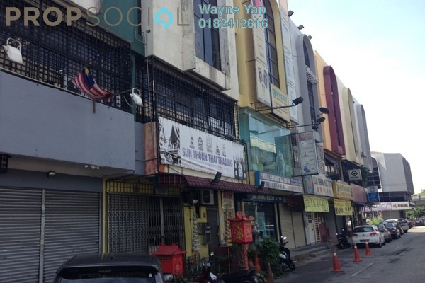 For Rent Shop at Taman Shamelin Perkasa, Cheras Leasehold Semi Furnished 0R/0B 3.8k
