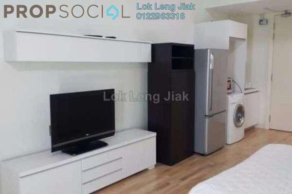 For Rent Serviced Residence at Solaris Dutamas, Dutamas Freehold Fully Furnished 0R/1B 2k