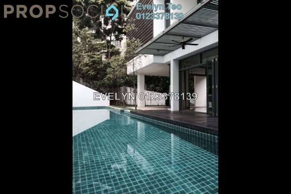 For Rent Bungalow at The Residence, Mont Kiara Freehold Semi Furnished 8R/10B 30k