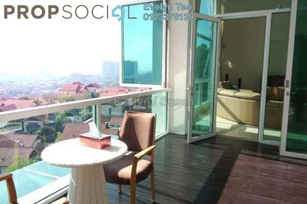 For Rent Condominium at Sunway Vivaldi, Mont Kiara Freehold Fully Furnished 3R/3B 13k