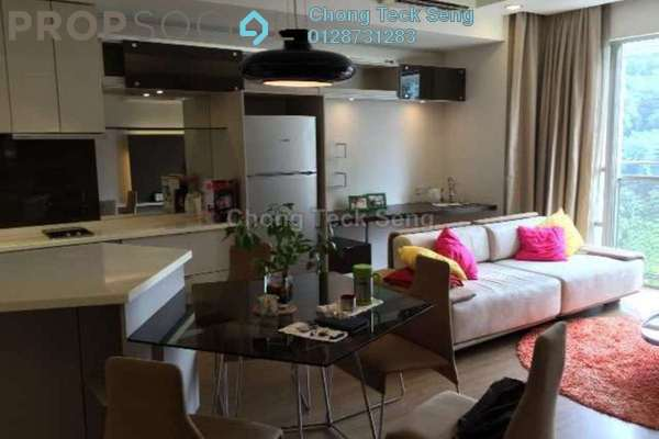 For Rent Serviced Residence at VERVE Suites, Mont Kiara Freehold Fully Furnished 2R/2B 4.2k