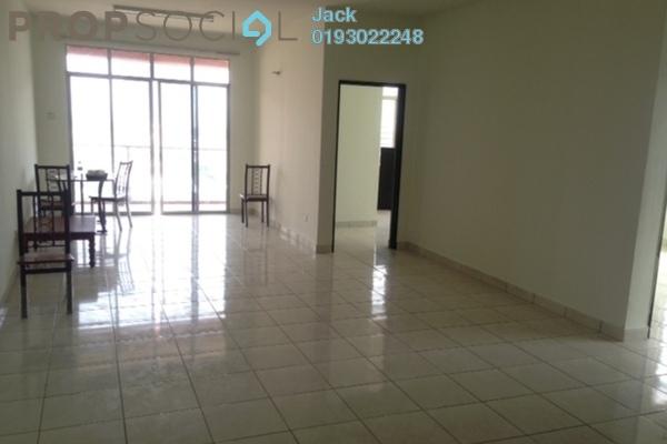 For Rent Condominium at Diamond Regency, Setapak Freehold Semi Furnished 3R/2B 1.7k