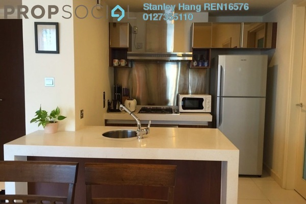 For Rent Condominium at Tiffani Kiara, Mont Kiara Freehold Fully Furnished 2R/2B 3.5k